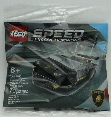 Lego 30342 Speed Champions Lamborghini Huracan Super Trofeo EVO 70pcs