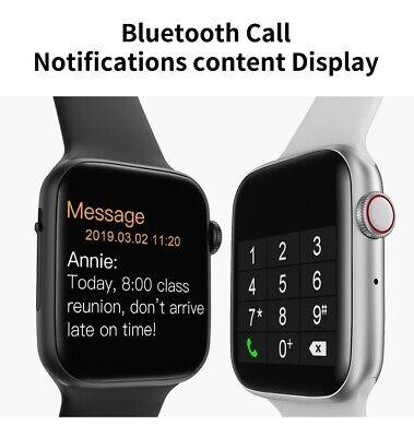 Smartwatch W34 Android Fitness Tracker Controllo Battito Pressione Chiamate BT