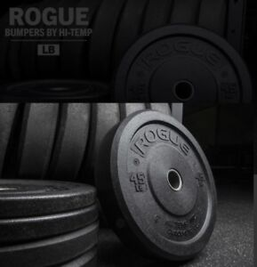 Rouge Fitness Bumpers by Hi-Temp (45lb plates)