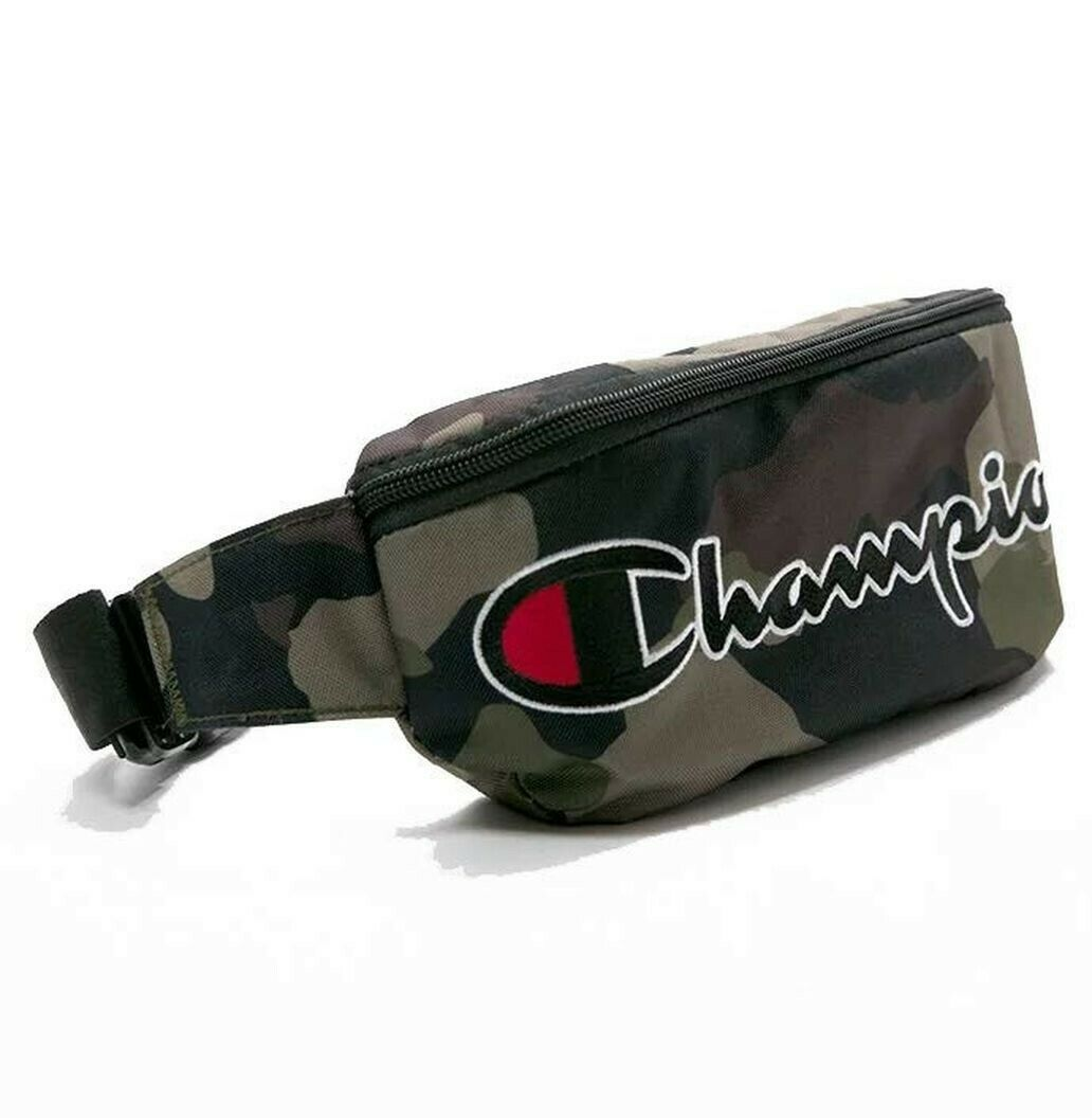 Champion Men Women Prime Camo Sling Fanny Pack Waist Bag Pur