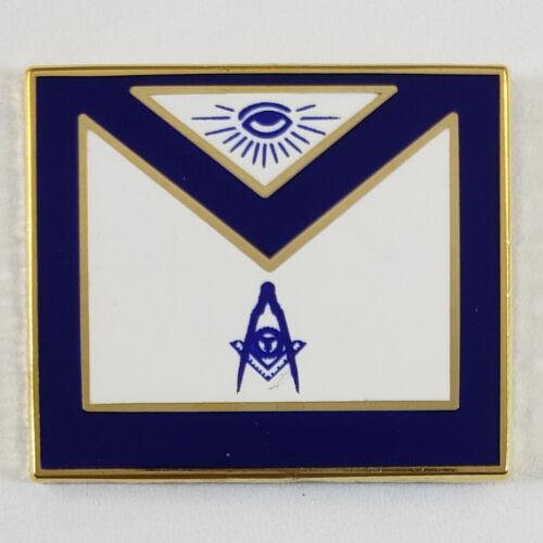 Masonic Officer Apron Senior Deacon Lapel Pin Mason (SCA) Freemason