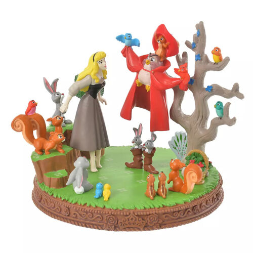 SLEEPING BEAUTY AURORA ACCESSORY STAND  STORY COLLECTION DISNEY STORE JAPAN
