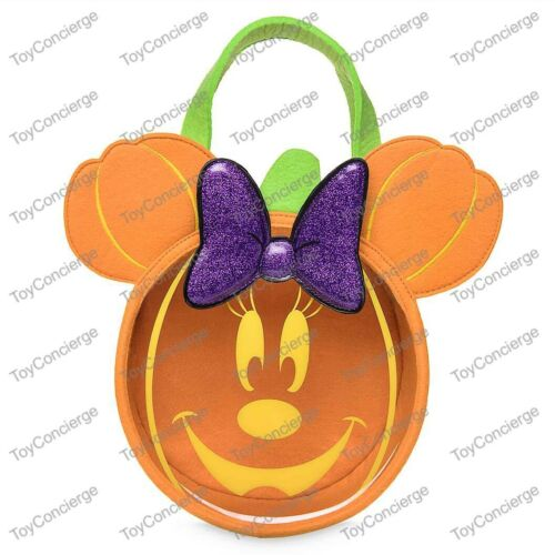 ^ DISNEY Store HALLOWEEN 2019 - TRICK OR TREAT BAG - MINNIE MOUSE - NWT