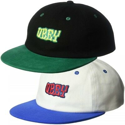 Obey Men's Better Days 6 Panel Snapback Hat