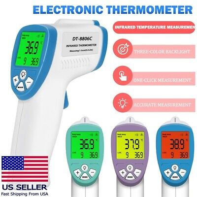 Non-contact Electronic Thermometer Digital Lcd Infrared Forehead Temperature Gun