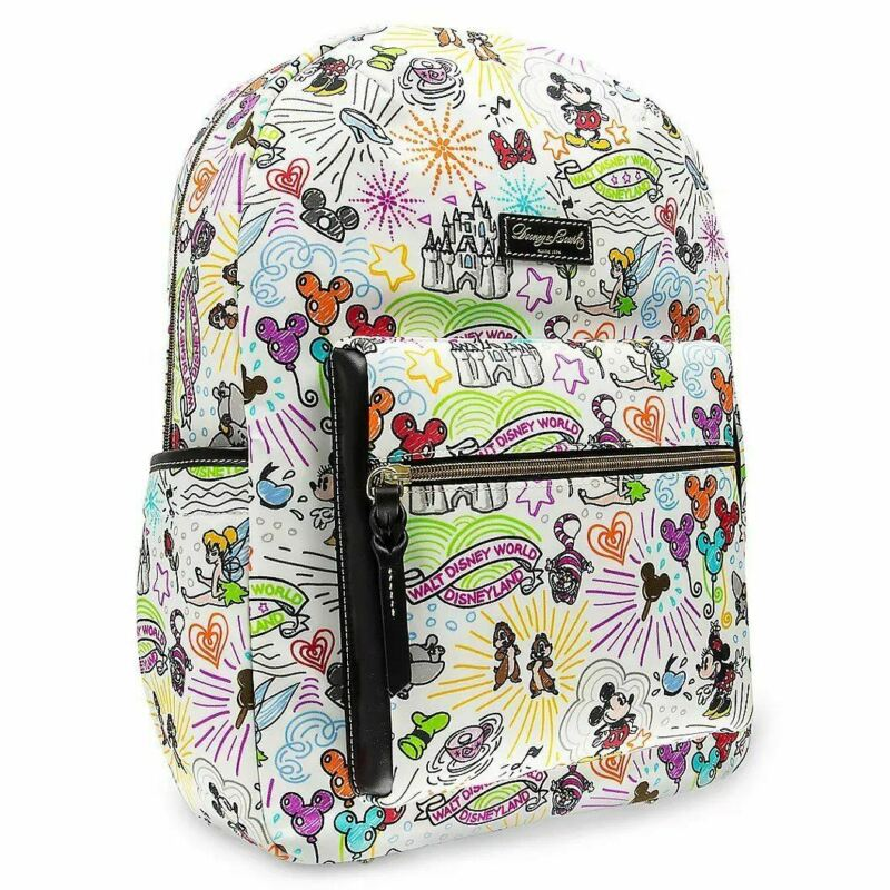 Disney Park Authentic Sketch Backpack by Dooney & Bourke