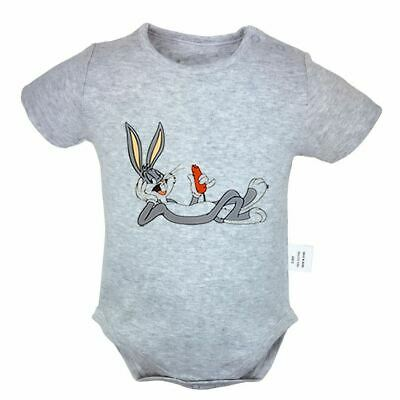 CUTE Bugs Bunny Newborn Romper Baby Cotton Jumpsuit Bodysuit Clothes Outfit Sets - Bugs Bunny Outfit