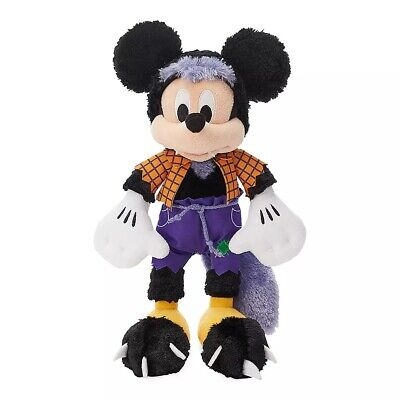 Mickey Mouse Halloween (MICKEY MOUSE HALLOWEEN WEREWOLF SHAGGY PLUSH 13