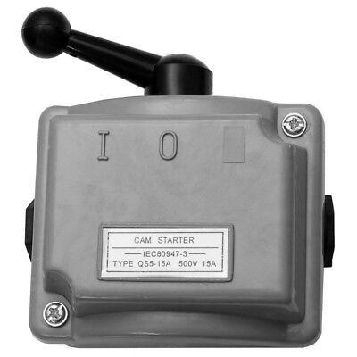 15A 3 Phasen Hauptschalter 230v 380V Drehschalter Trennschalter Starkstrom