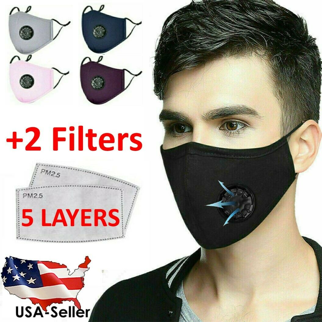reusable-washable-cloth-fabric-cotton-face-mask-cover-activated-carbon-filters