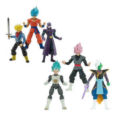 Blue Series 3 Figure (Dragon Ball Stars Series Figure Wave 3 and 4 ZAMASU BLUE GOKU ROSE FUTURE)