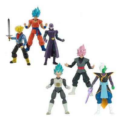 Dragon Ball Stars Series Figure Wave 3 and 4 ZAMASU BLUE GOKU ROSE FUTURE TRUNKS (Dragon Series)