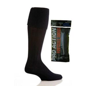 plain football hockey socks 4 6 uk boot 37 39 eur black