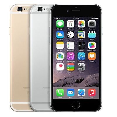 Apple Iphone 6 16Gb 64Gb 128Gb At T   Space Gray Silver Gold