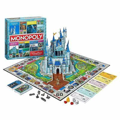 Disney Parks Theme Park Edition Monopoly Board Game