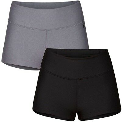 """Hurley Women's 2"""" Compression Surf Shorts"""