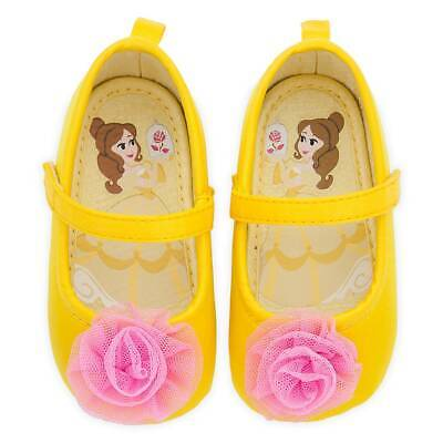 Disney Belle Baby (NEW Disney Store Belle Baby Costume Shoes Yellow many)