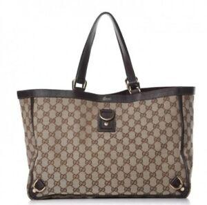 a7a697359d5 Authentic Gucci Signature Tote Handbag