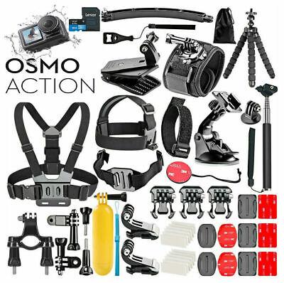 DJI Osmo Action 4K Cam Digital Camera + **Deluxe Mega Bundle Accessories**32GB
