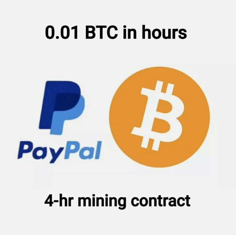 0.01 BTC Guaranteed ☆ 4hr Mining Contract ☆ Honest Deal ☆ Paid in hours NOT days