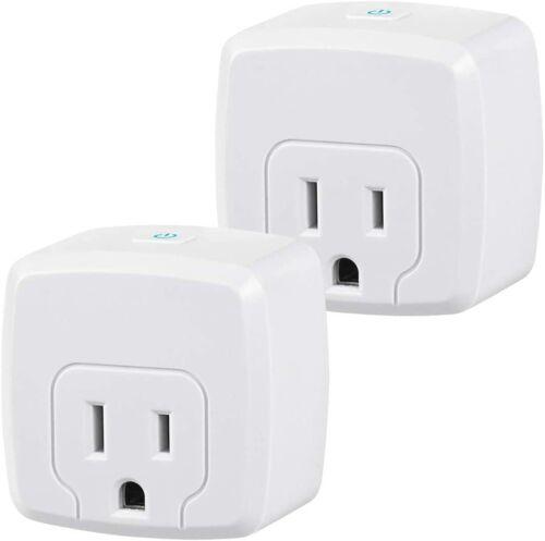 Mini Smart WiFi Plug Compatible with Alexa/Google Home ETL Listed (1 Pack)
