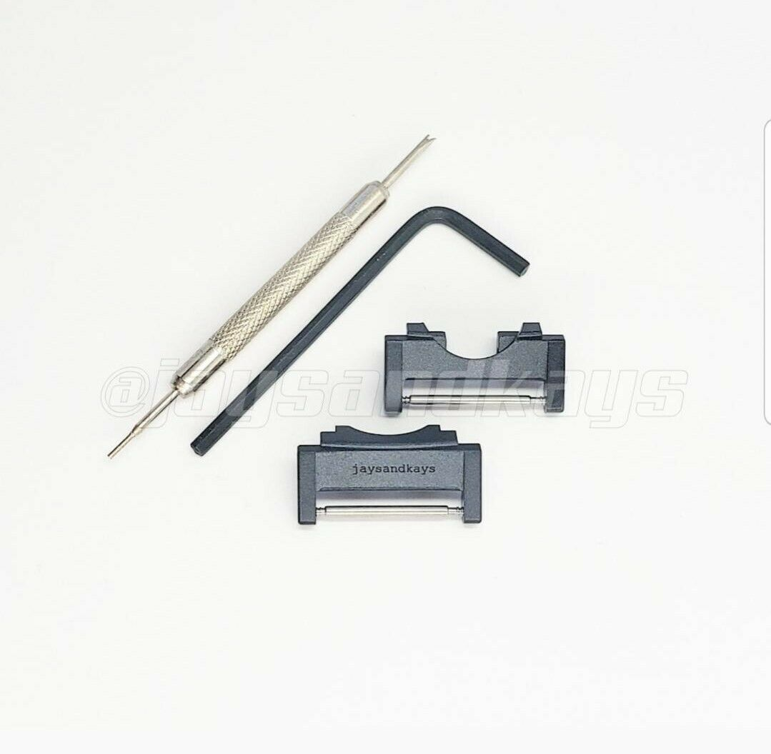 JaysAndKays® Metal Adapters for Casio GShock GWG1000 Mudmaster MasterOfG