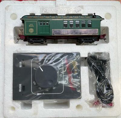 Hawthorne Village Thomas Kinkade Christmas Express US Mail Train Set Power Box: