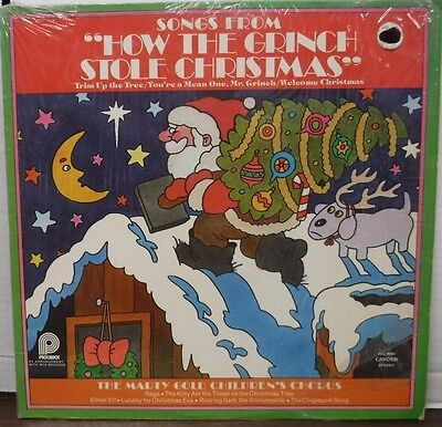 Songs from How the Grinch Stole Christmas 33RPM 1973 ACL9003   123116LLE ()