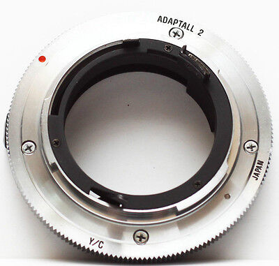 Tamron Adaptall 2 Mount System To Contax Yashica C/Y CY Lens Mount Adapter
