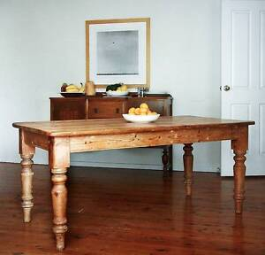 English Farmhouse Dining Table Matraville Eastern Suburbs Preview