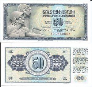 YUGOSLAVIA-BILLETE-50-DINARA-1978-PICK-89