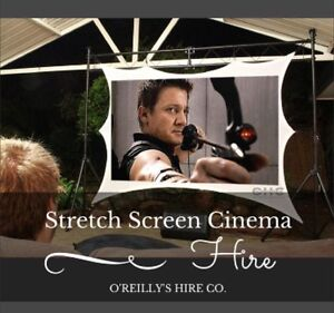 Stretch Screen Cinema Hire Perth - O'Reilly's Hire Co. Kelmscott Armadale Area Preview
