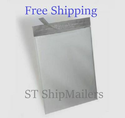 19x24 White Poly Mailer Self Sealing Shipping Envelopes Bags 2.35mil 19x24 8