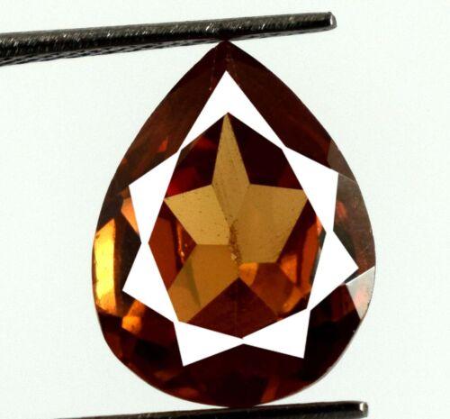 Pakistan Brown Axinite 7.15 Ct Pear Cut Gemstone 100% Natural Certified V8192