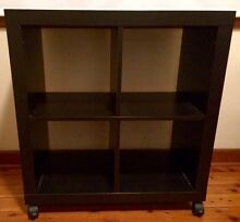 IKEA Expedit Black Brown 4 Cube Shelf / Bookcase North Willoughby Willoughby Area Preview