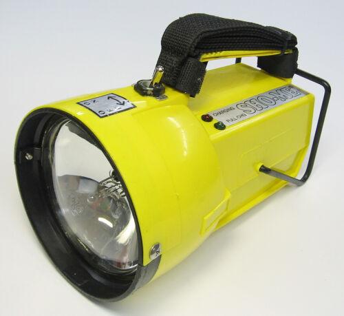 Sho-Me Rechargeable Light Model 09.2770 Halogen Flashlight, Firefighter, Rescue