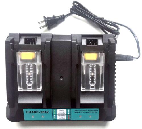 BL1850B 4A pour Makita BL1850 Double chargeur Li-Ion BL1860 BL1860B