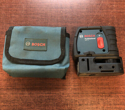 Bosch Gpl3 3-point Alignment Self-leveling Laser Free Shipping