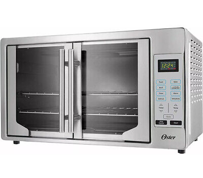 Oster Digital French Door Countertop Oven Turbo Convection TSSTTVFDDG