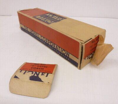 """BX Lionel Prewar 617 Flying Yankee """"O"""" Gauge Coach - Empty Box"""