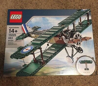 LEGO Creator 10226 Sopwith Camel biplane New in sealed box