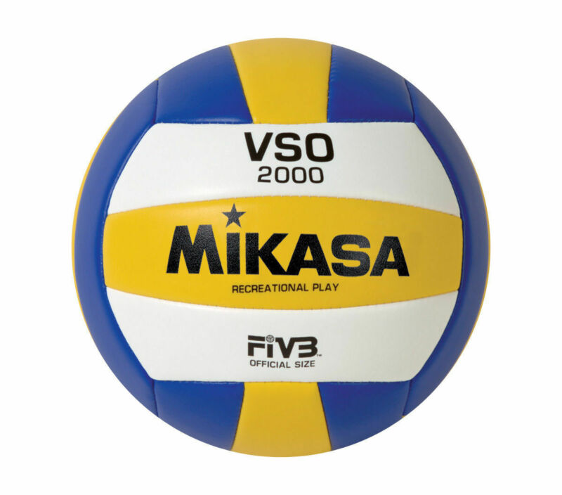 Mikasa Official Size Recreational Beach-Sand-Outdoor Volleyball