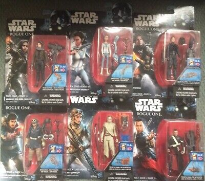 LOT OF 6 Star Wars Action Figure.