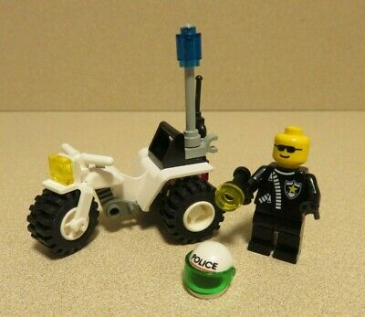 LEGO 6324 Town Police CHOPPER COP 100% Complete  *Vintage 1998*