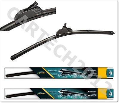 Fits Hyundai Santa Fe MK1 SUV Bosch Aerotwin Retro Front Wiper Blades