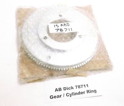 Ab Dick 78711 Gear Cylinder Ring - Prepaid Shipping