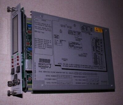 Bently Nevada Dual Vibration Xygap Monitor 330016-03-01-02-00-00-00