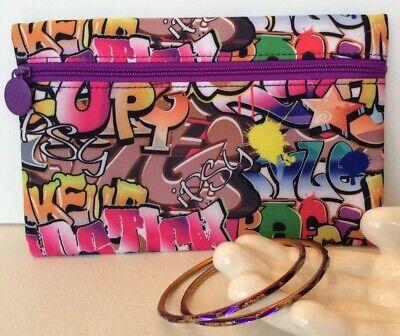 Ipsy Graffiti Glam Bag And Vintage Bangle Bracelets for sale  Churchville