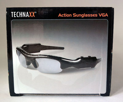 Technaxx Action Sonnenbrille VGA mit integrierter Minikamera und Mikrofon