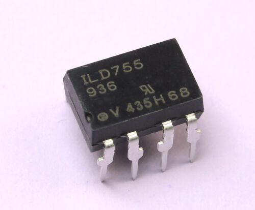 25pcs VISHAY ILD755  Optocoupler, Dual Channel